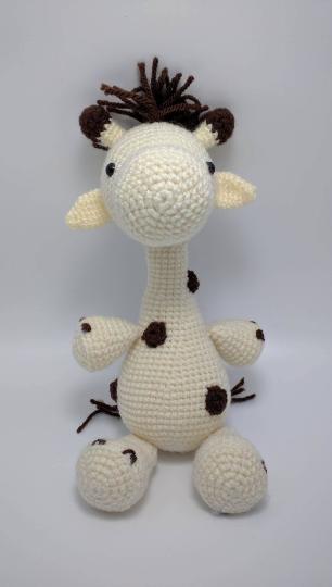 Crochet Giraffe Free Pattern Made By Erikadu